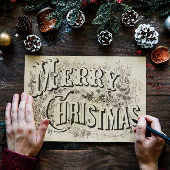 欧米流!?クリスマスカードで感謝の気持ちを届けよう!